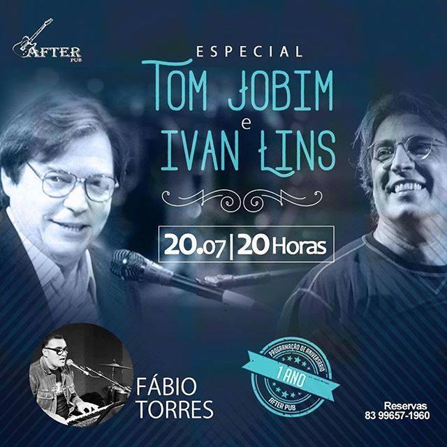 After Pub faz tributo a Tom Jobim e Ivan Lins – Turismo em foco – Tudo do  turismo no Brasil e Mundo